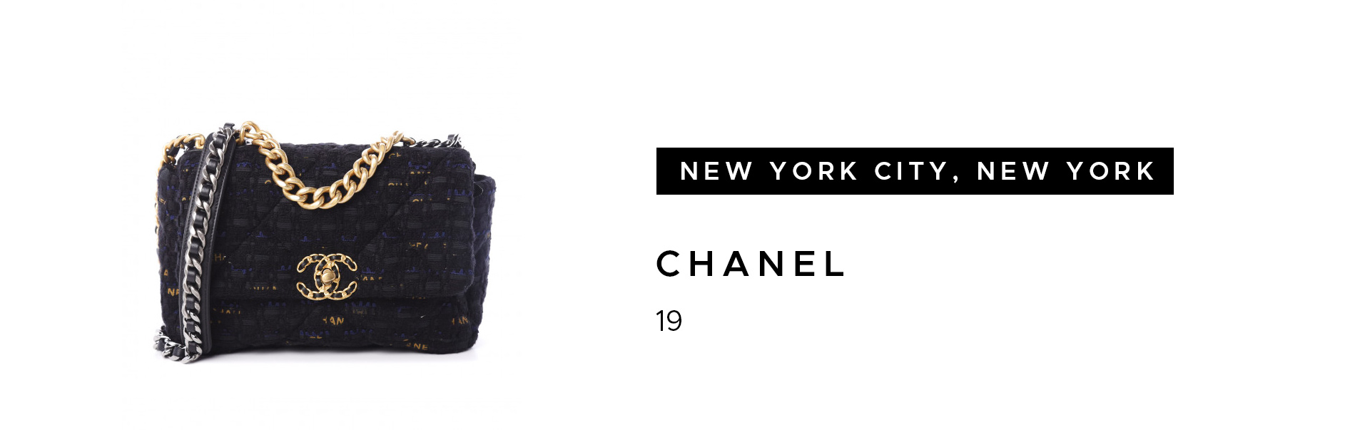 New York City, New York Chanel 19