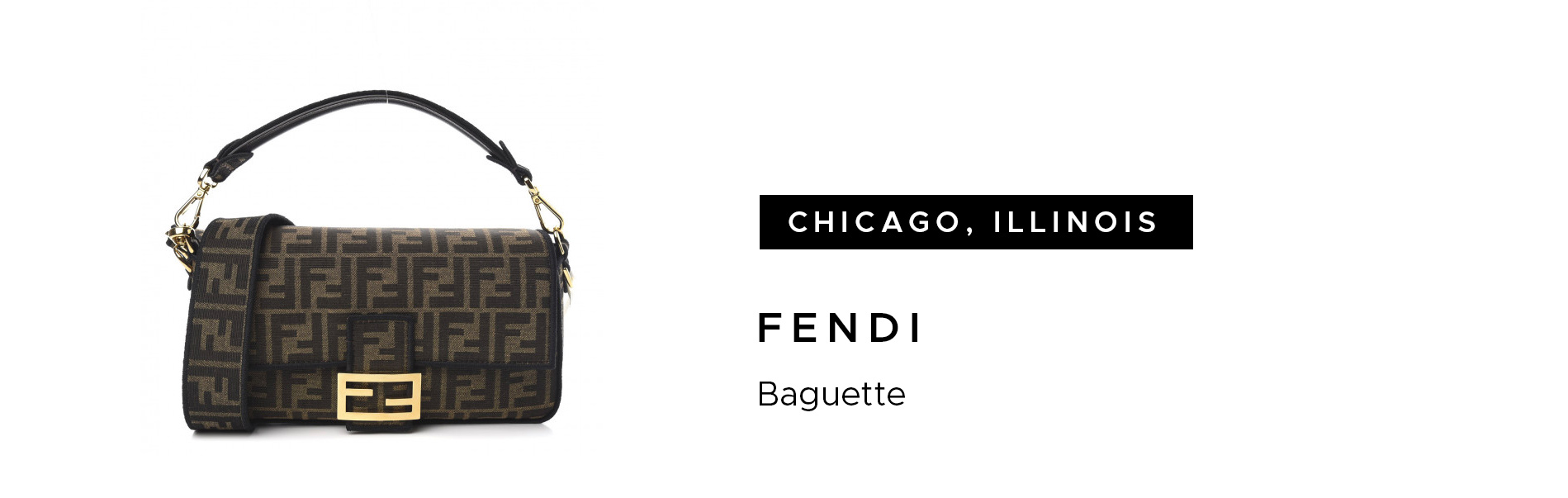 Chicago, Illinois Fendi Baguette