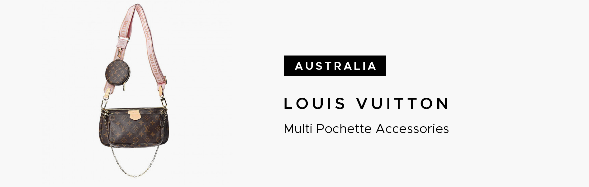 Australia Louis Vuitton Multi Pochette Accessories