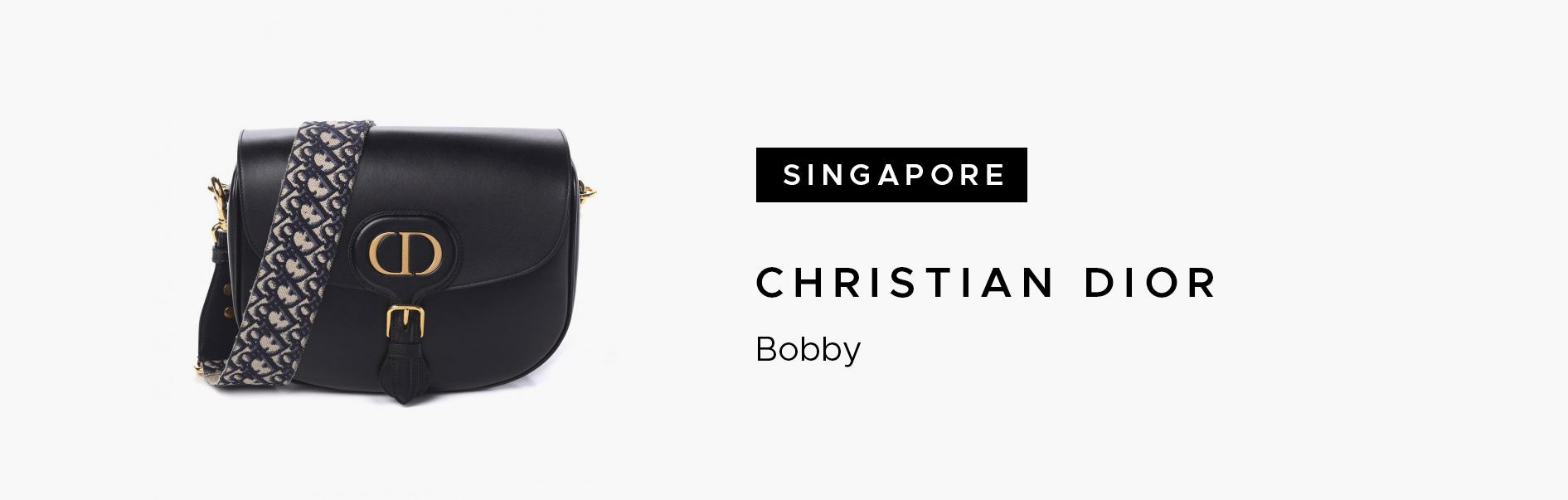 Singapore Christian Dior Bobby