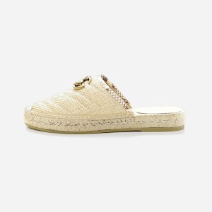 Gucci Raffia Shoes