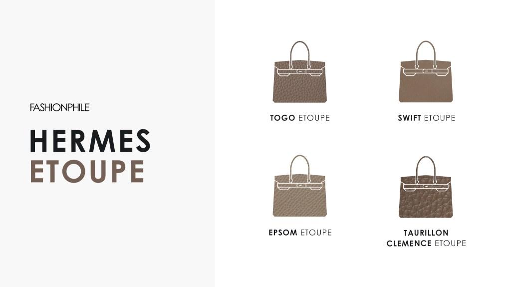 Hermes Etoupe Design Graphic FASHIONPHILE