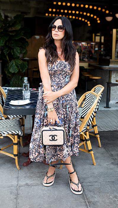 Lifestyle photo of Chantelle Malarkey Chanel Vanity Case FASHIONPHILE