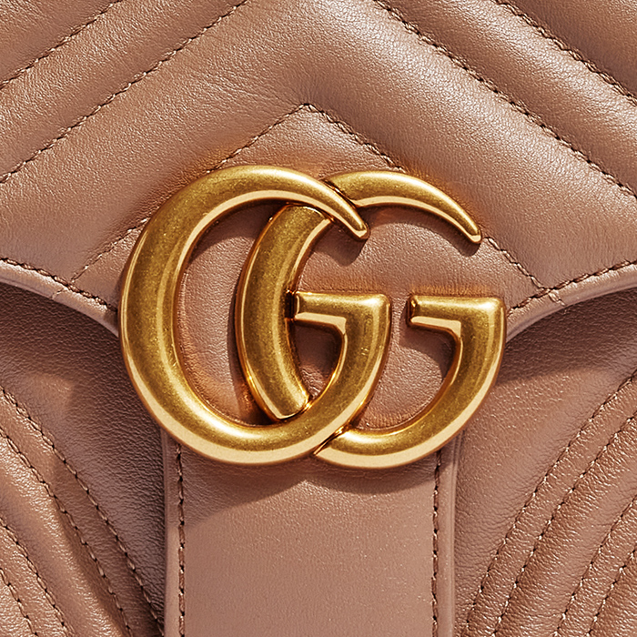product image of Fake Gucci Marmont Top Handle Bag FASHIONPHILEE