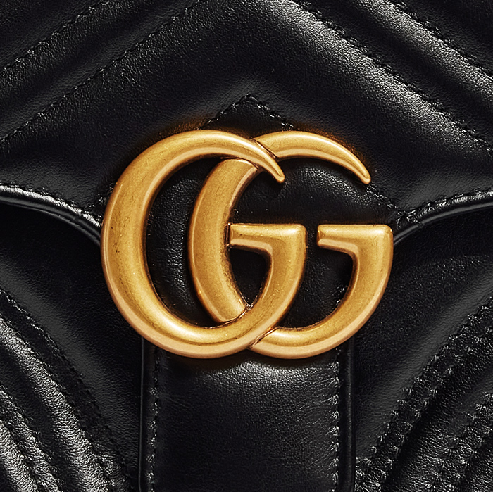product image of Authentic Gucci Marmont Top Handle Bag FASHIONPHILE