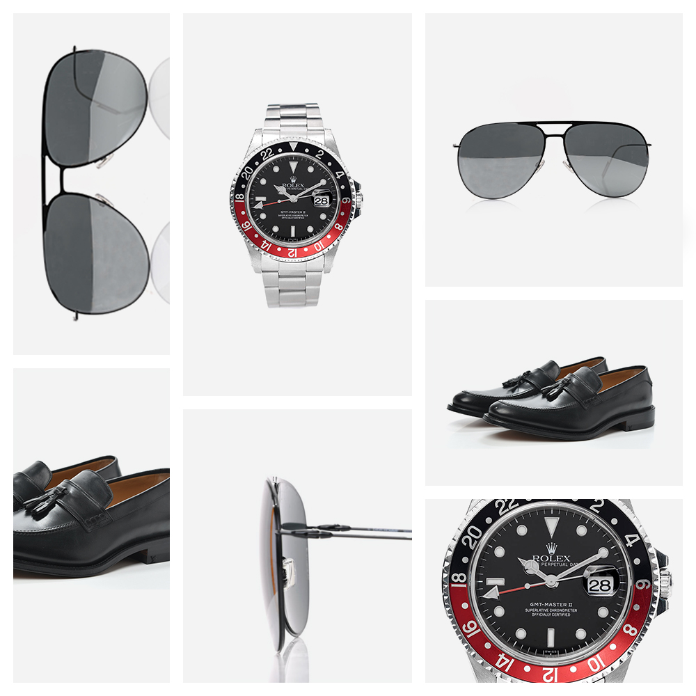 Collage of our favorite fashion accessories Sunglass Pairings FASHIONPHILE